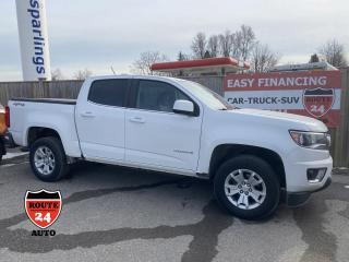 Used 2015 Chevrolet Colorado Crew Cab LT 4x4,hard to find. Very handy to own. for sale in Brantford, ON