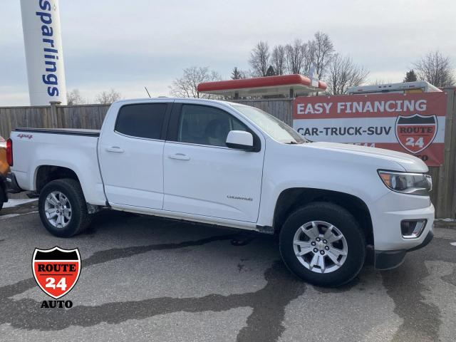 2015 Chevrolet Colorado Crew Cab LT 4x4,hard to find. Very handy to own.