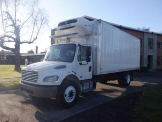 Used 2015 Freightliner M2106 Cube Van 23 foot Reefer Dually Diesel for sale in Burnaby, BC