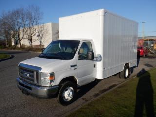 Used 2015 Ford Econoline E-450 Cube Van 14 Foot With Rear Shelving for sale in Burnaby, BC