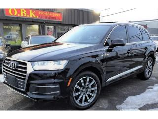 Used 2017 Audi Q7 Quattro-Technik-NAVIGATION-CAM RECUL-TOIT PANO for sale in Laval, QC