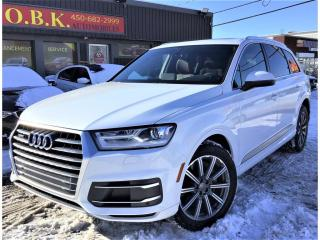 Used 2018 Audi Q7 3.0-Quattro-Komfort-NAVIGATION-TOIT PANO-CAM RECUL for sale in Laval, QC