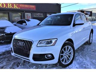 Used 2017 Audi Q5 Quattro-2.0T-Technik-TOIT PANORAMIQUE-BLUETOOTH- for sale in Laval, QC