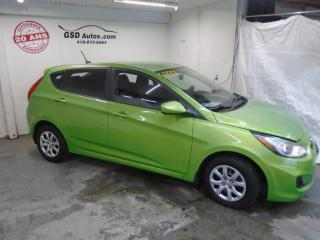 Used 2012 Hyundai Accent GL for sale in Ancienne Lorette, QC