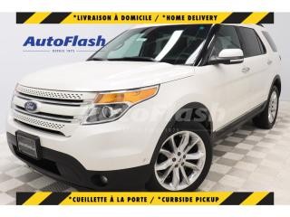 Used 2015 Ford Explorer LIMITED 3.5L *PARK-ASSIST* GPS/CAMERA *TOIT-PANO for sale in St-Hubert, QC