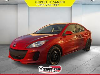 Used 2012 Mazda MAZDA3 GS-SKY ACTIVE * A VENDRE PRES DE QUEBEC* for sale in Donnacona, QC