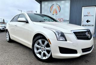 Used 2013 Cadillac ATS ***AWD,CUIR,TOIT,TURBO,AUBAINE*** for sale in Longueuil, QC