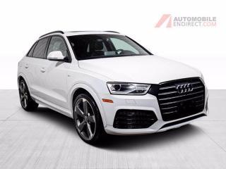 Used 2017 Audi Q3 PROGRESSIV S-LINE CUIR TOIT NAV MAGS for sale in St-Hubert, QC