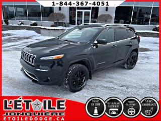 Used 2016 Jeep Cherokee 4 RM 4 portes Overland for sale in Jonquière, QC