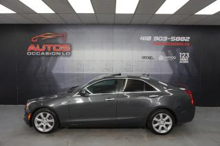 Used 2015 Cadillac ATS 2.0L AWD AUTO MAGS CUIR TOIT OUVRANT 84 475 KM !! for sale in Lévis, QC