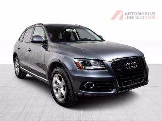 Used 2017 Audi Q5 KOMFORT 2.0T QUATTRO CUIR TOIT PANO MAGS for sale in St-Hubert, QC