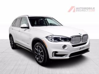 Used 2017 BMW X5 35i xDrive Cuir Toit Pano GPS Sièges Chauffants for sale in St-Hubert, QC