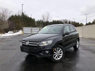 Used 2017 Volkswagen Tiguan WOLFSBURG EDITION 4MOTION for sale in Cayuga, ON