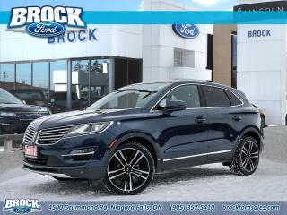 Used 2017 Lincoln MKC Reserve for sale in Niagara Falls, ON