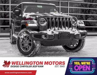 New 2021 Jeep Wrangler Unlimited Sahara 80th Anniversary for sale in Guelph, ON