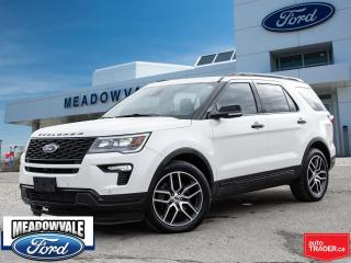 Used 2018 Ford Explorer SPORT for sale in Mississauga, ON