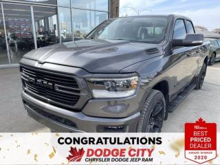 New 2021 RAM 1500 Sport-4WD,Htd/Vented Seats,Remote Start,Leather for sale in Saskatoon, SK