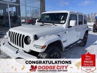 New 2021 Jeep Wrangler High Altitude for sale in Saskatoon, SK