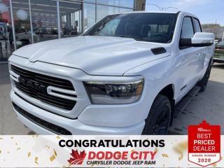 New 2021 RAM 1500 Sport-4WD,Remote Start, Htd/Vented Seats,B/U Cam for sale in Saskatoon, SK