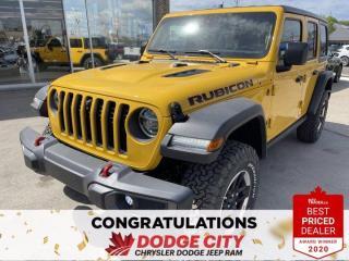 New 2021 Jeep Wrangler Rubicon-4WD,Nav,WiFi,Remote Start,Htd.Seats/Wheel for sale in Saskatoon, SK