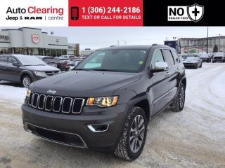Used 2018 Jeep Grand Cherokee Limited for sale in Saskatoon, SK