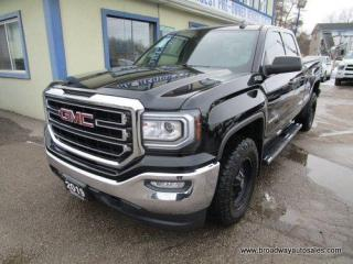 Used 2019 GMC Sierra 1500 LIKE NEW SLE-Z71-LIMITED EDITION 6 PASSENGER 5.3L - V6.. QUAD-CAB.. SHORTY.. BACK-UP CAMERA.. HEATED SEATS.. TRAILER BRAKE.. BLUETOOTH SYSTEM.. for sale in Bradford, ON