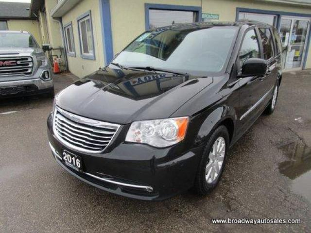 2016 Chrysler Town & Country LOADED TOURING EDITION 7 PASSENGER 3.6L - V6.. CAPTAINS.. STOW-N-GO.. NAVIGATION.. DUAL DVD.. BACK-UP CAMERA.. HEATED SEATS.. POWER DOORS & WINDOWS..