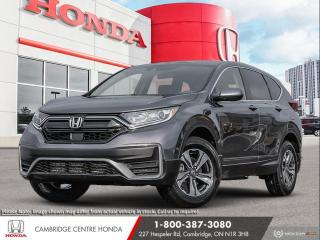 New 2021 Honda CR-V LX HONDA SENSING TECHNOLOGIES | APPLE CARPLAY™ & ANDROID AUTO™ | REMOTE STARTER for sale in Cambridge, ON