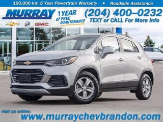 New 2021 Chevrolet Trax Back-up Camera, Wifi, Bluetooth, Remote Start for sale in Brandon, MB