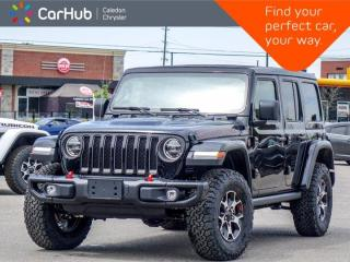 New 2021 Jeep Wrangler Unlimited Rubicon 4x4 Sky Power Soft Top Navigation Blind Spot Remote Start Heated front 17