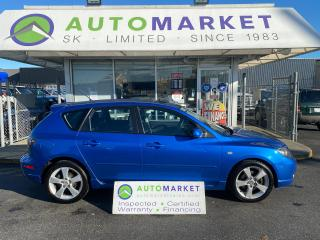 Used 2005 Mazda MAZDA3 SPORT HATCHBACK AUTO FREE BCAA MBRSHP & WRNTY for sale in Langley, BC