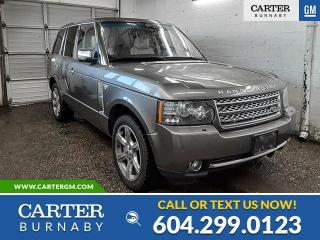 Used 2010 Land Rover Range Rover SuperCharged for sale in Burnaby, BC