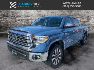 Used 2019 Toyota Tundra Limited 5.7L V8 Nav, Leather, Sunroof, Adaptive Cruise for sale in King, ON