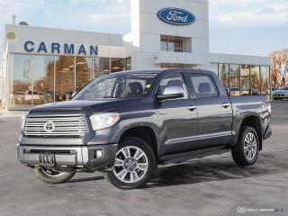 Used 2015 Toyota Tundra Platinum for sale in Carman, MB