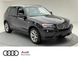 Used 2013 BMW X3 xDrive28i for sale in Burnaby, BC