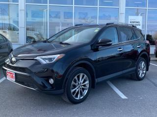 Used 2017 Toyota RAV4 Limited LIMITED+PLATINUM WARRANTY-100,000 KMS! for sale in Cobourg, ON