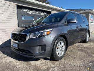 Used 2016 Kia Sedona LX+ - Snows on Rims Included! for sale in Kingston, ON