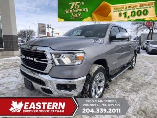 New 2021 RAM 1500 Big Horn | Backup Cam | Blth. | 0% Financing | for sale in Winnipeg, MB