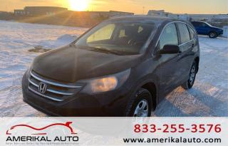 Used 2013 Honda CR-V LX for sale in Winnipeg, MB