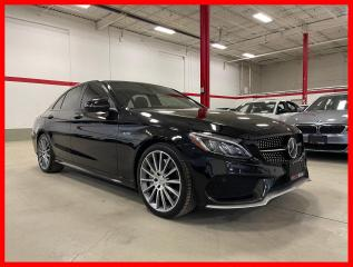 Used 2018 Mercedes-Benz C-Class C43 AMG 4MATIC DISTRONIC PREMIUM AMG DRIVER RED INT! for sale in Vaughan, ON