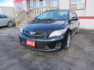 Used 2012 Toyota Corolla Base for sale in Hamilton, ON