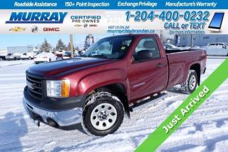 Used 2013 GMC Sierra 1500 V8 4WD*8FT Box*Tow Pkg*Sprayin Liner*Cruise*AC* for sale in Brandon, MB
