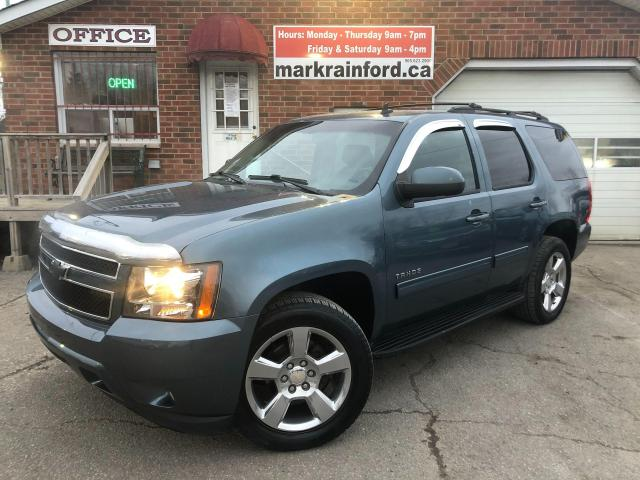 2010 Chevrolet Tahoe LT 4X4 5.3 8 Passenger Sunroof Leather Tow Package