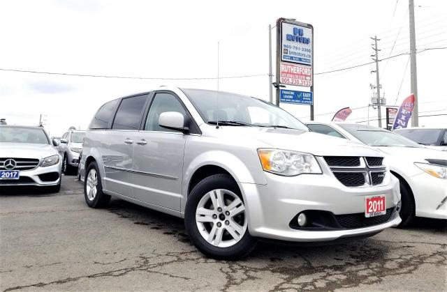 2011 Dodge Grand Caravan No Accidents| 1 Owner|Loaded | Certified Crew Plus