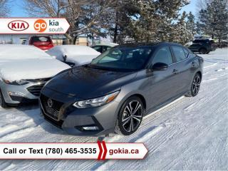 Used 2020 Nissan Sentra SR; LOW KM!!!, SUNROOF, BACKUP CAMERA, BUTTON START, BLUETOOTH for sale in Edmonton, AB