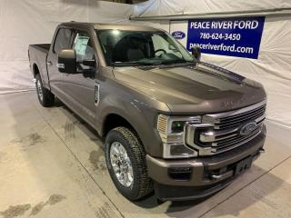 New 2021 Ford F-350 Super Duty SRW Limited for sale in Peace River, AB