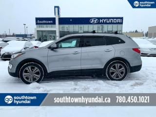 Used 2013 Hyundai Santa Fe LIMITED/6 PASS/CAPTAIN SEATS/LEATHER/PANO ROOF/NAVI for sale in Edmonton, AB