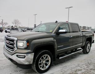 Used 2017 GMC Sierra 1500 SLT 4WD/ HEATED/COOLED LEATHER/ TOW PKG/ REMOTE ST for sale in Estevan, SK
