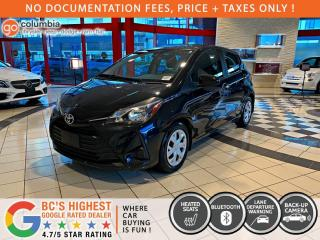 Used 2019 Toyota Yaris Hatchback LE - No Accident / Local / No Dealer Fees / One Owner for sale in Richmond, BC