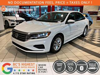 Used 2020 Volkswagen Passat Comfortline - No Accident / No Dealer Fees / Heated Seats for sale in Richmond, BC